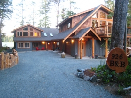 Black Bear Bed and Breakfast, Tofino