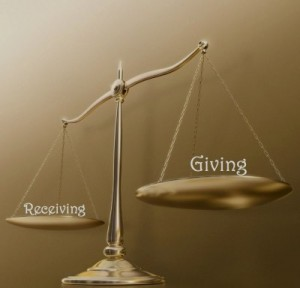Giving, Receiving, Balance, Feminine energy