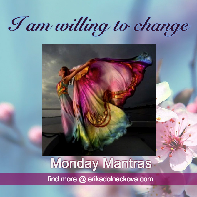 Monday Mantra- change